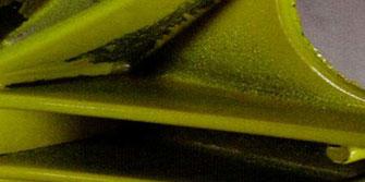Дефект не прокрашивания углублений при порошковой покраске