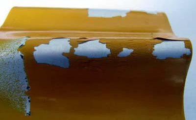 Отслаивание порошковой краски